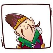 卡通游戏Q版lol英雄联盟扣扣头像图片:ペ哥,不帅但很坏じ 欲戴皇