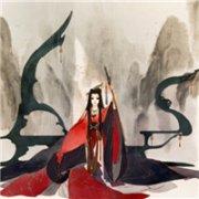 红色喜庆的嫁衣(新娘)个性动漫QQ真人微信头像图片